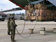 Russia delivers aid to Syria