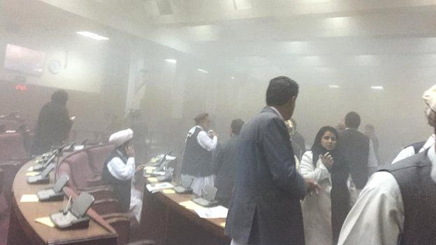Afghanistan parliament