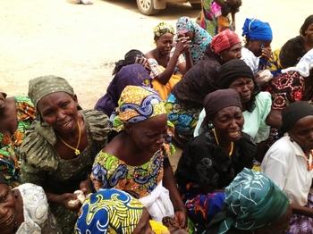 women in Nigeria prisoner of Boko Haram
