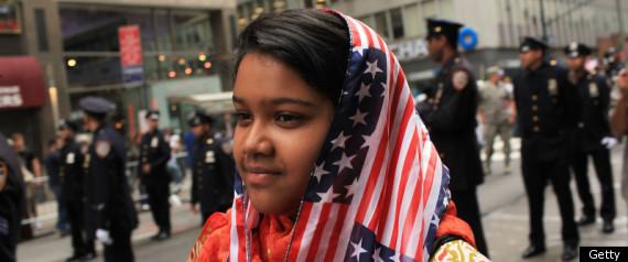 An American Muslim woman