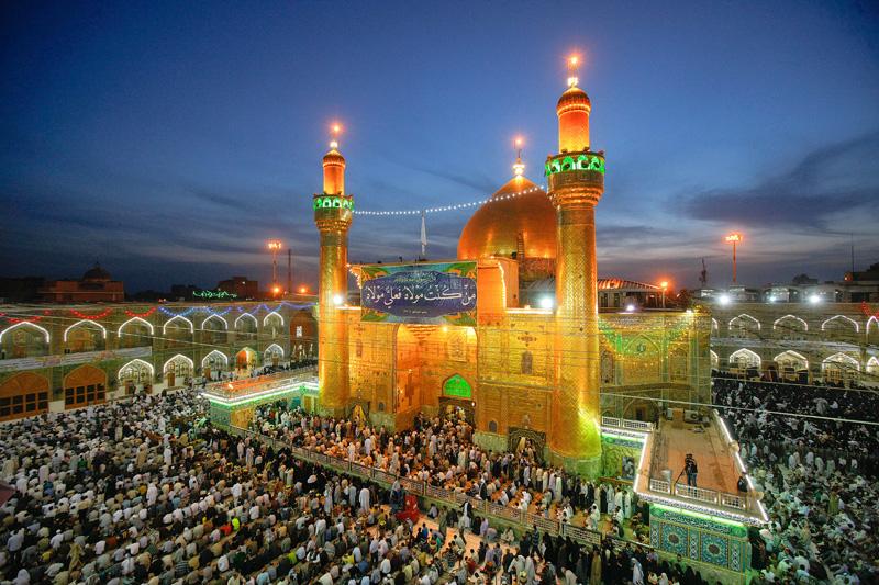 Imam Ali shrine in Iraq