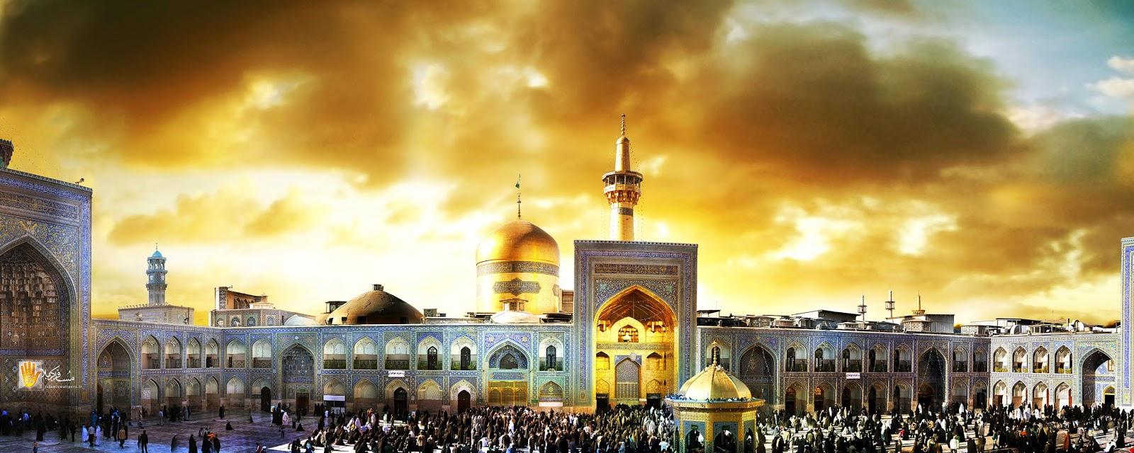 Muslim convert experiences Imam Reza shrine - International Shia ...