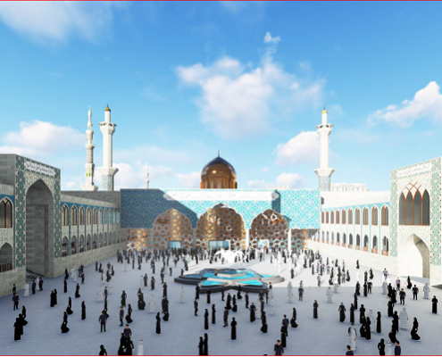 AL-BAQI' RECONSTRUCTION IN VIEW OF AN AMERICAN RESEARCHER