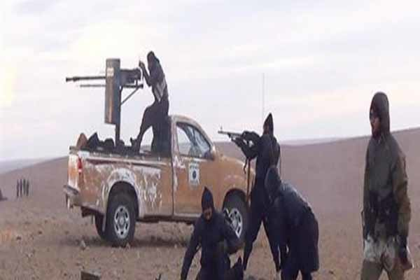 e. shafaqna ISIS attack at borders between Iraq, Syria foiled
