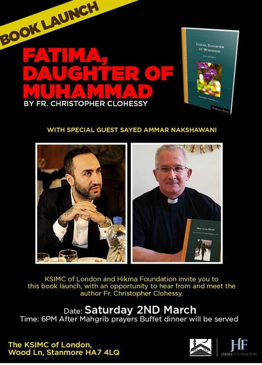 "Book launch in London: ""Fatima, daughter of Muhammad"""