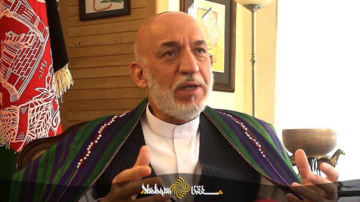 Karzai: Kabul government has to defend Afghanistan's soil on behalf of Afghan people