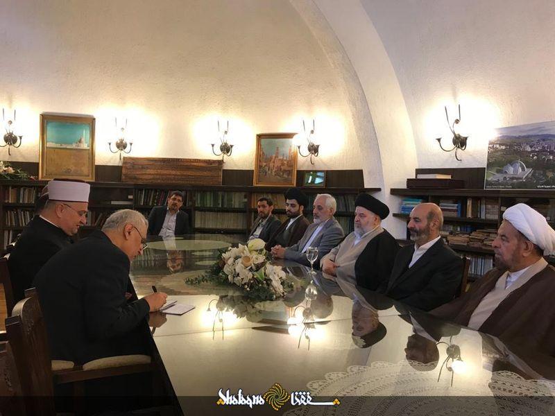 Ayatollah Sistani's envoy meets with Croatia's mufti