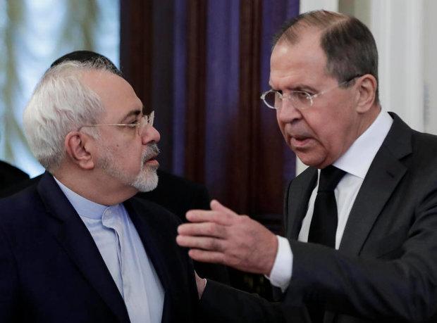 Mohammad Javad Zarif, Russia, Sergey Lavrov,Iran