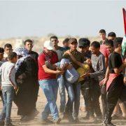 Gaza, Israeli forces, Palestinians, Israel, UN