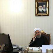 Hassan Rouhani, Emmanuel Macron, JCPOA