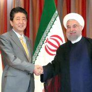 Hassan Rouhani, Abe Shinzo, Iran, Japan
