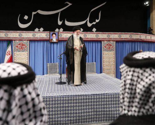 Ayatollah Khamenei, Iraqi mawkib organizers, Iraq, Iran, Arbaeen