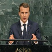 Emmanuel Macron, Iran, the United States, JCPOA