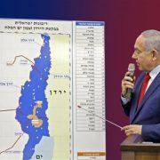 Benjamin Netanyahu, Mahmoud Abbas, West Bank