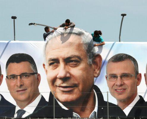 Benjamin Netanyahu, Israel, Benny Gantz