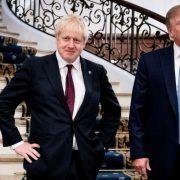 Boris Johnson, Donald Trump, JCPOA, Iran
