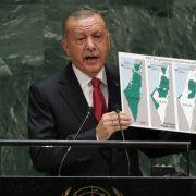 Recep Erdogan, Israel, UN General Assembly