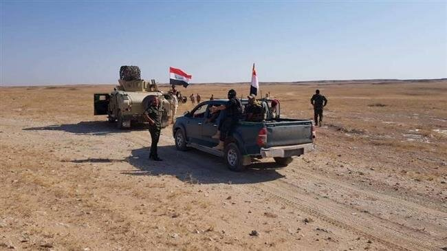 Iraq, Hashd al-Sha'abi, Daesh