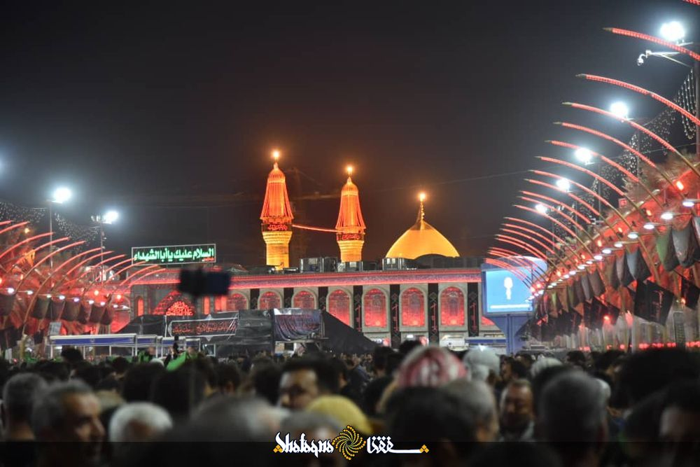 Photos: Demise anniversary of Hazrat khadija held at Imam Hussain holy shrine
