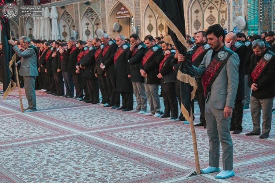 Martyrdom Anniversary of Hazrat Fatimah (S.A) at Imam Ali's (A.S) Holy Shrine + Photos