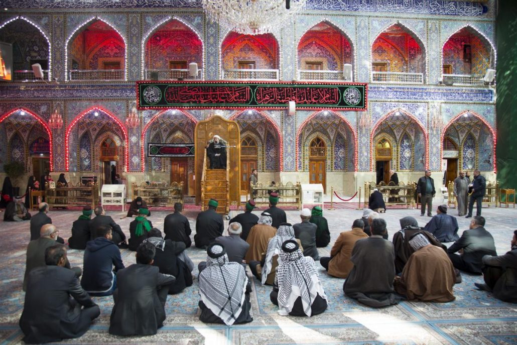 Seyyeds at al-Abbas's (AS) holy shrine held the annual condolences Majlis on the martyrdom anniversary of the Lady Fatimah Zahra (SA) + Photos
