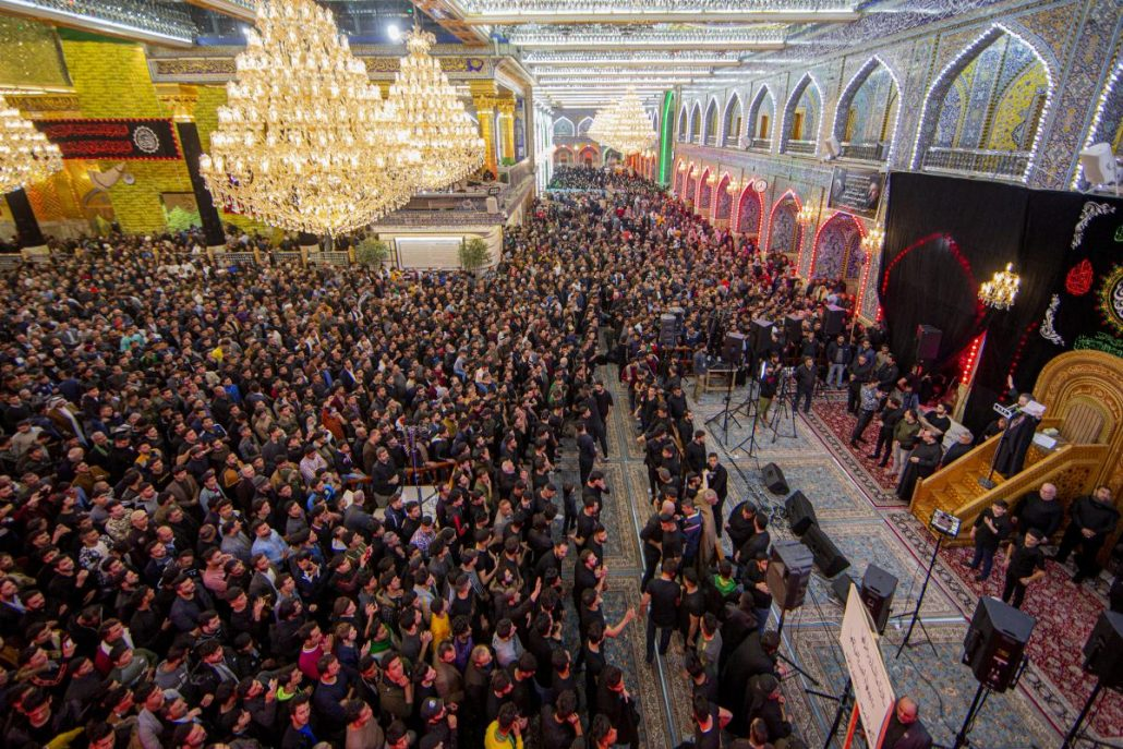 Mourning Ceremony for Lady Um al-Baneen (S.A) at al-Abbas Holy Shrine + Photos