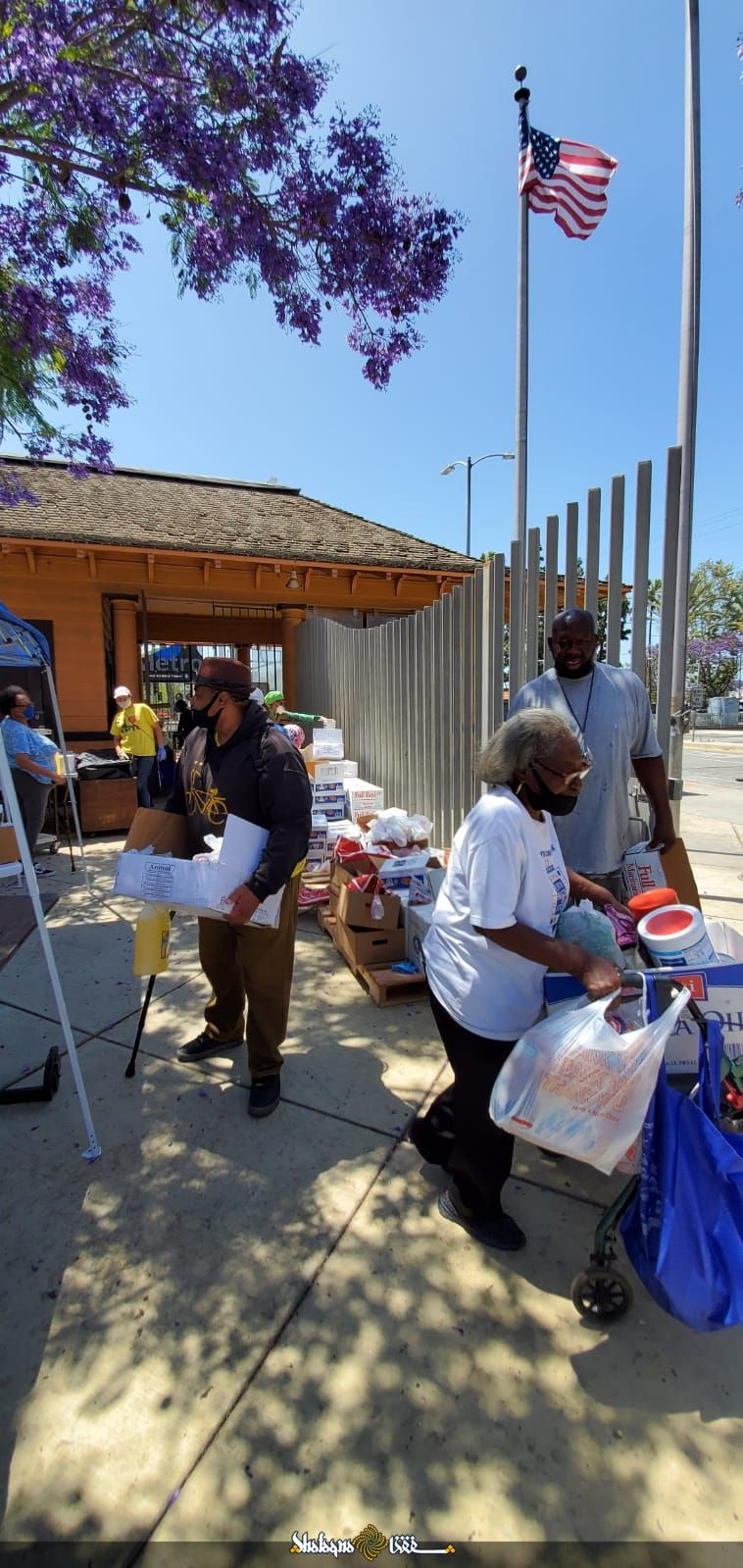 US: Banu Kush Shia Jammat food drive+ Photos