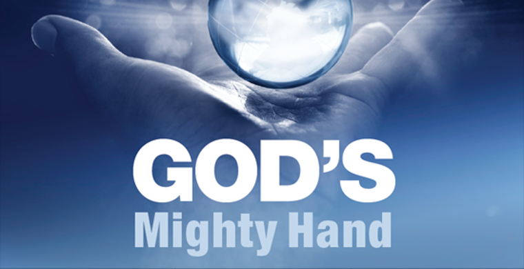 "God's ""Hand"" is Divine Might"