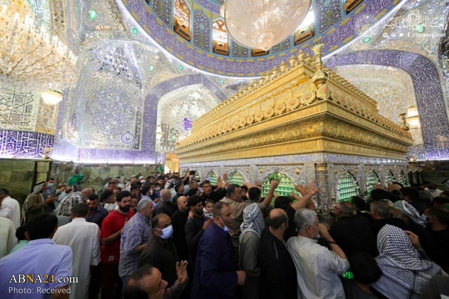 Photos: Believers participated in performing rituals of friday at Holy Shrine of Imam Ali in Najaf