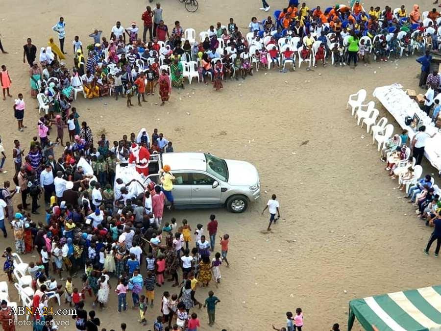 Photos: Ivory Coast Shia Festival for Orphans on Christmas and commemoration of late Yahya Alavi (Bono)