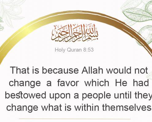 Quran 8:53