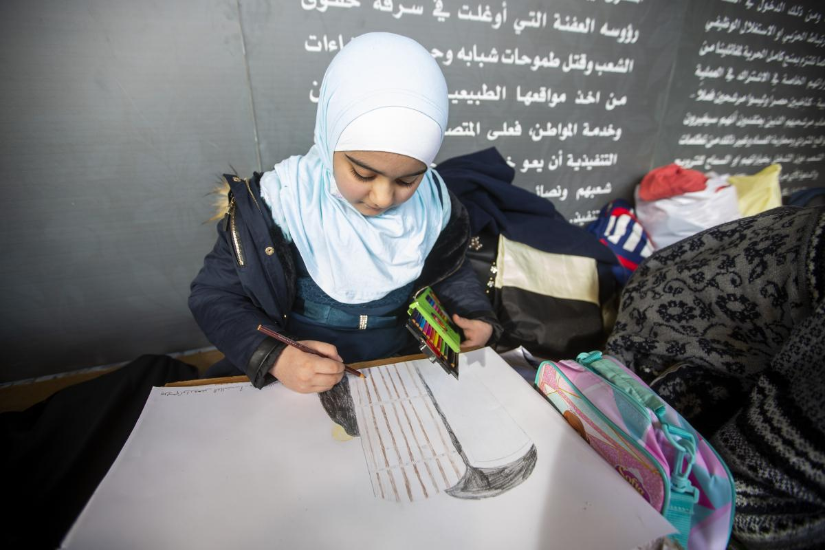 Iraqi children show their love of Lady Zahra (S.A)+Photos