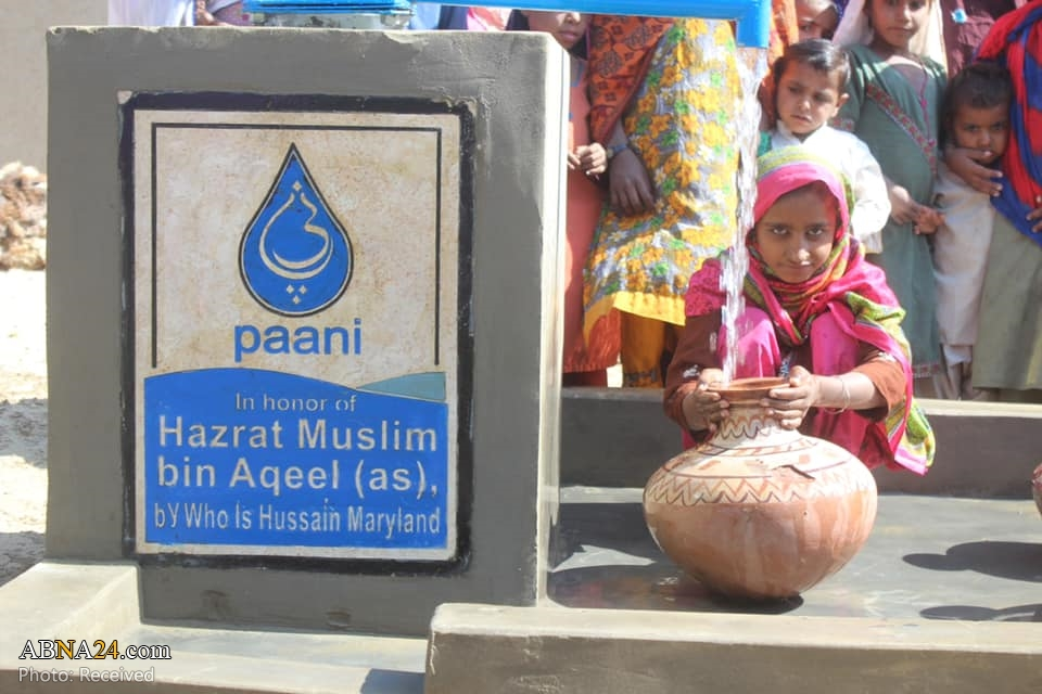 """Photos: """"Who is Hussain?"""" Volunteers in Maryland, US donates wells to impoverished areas in Pakistan for accessing clean water"""