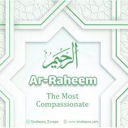 Ar-Raheem, Gog Allah, Shia Graph, Asma Al-Hosna , Beautiful Names of God