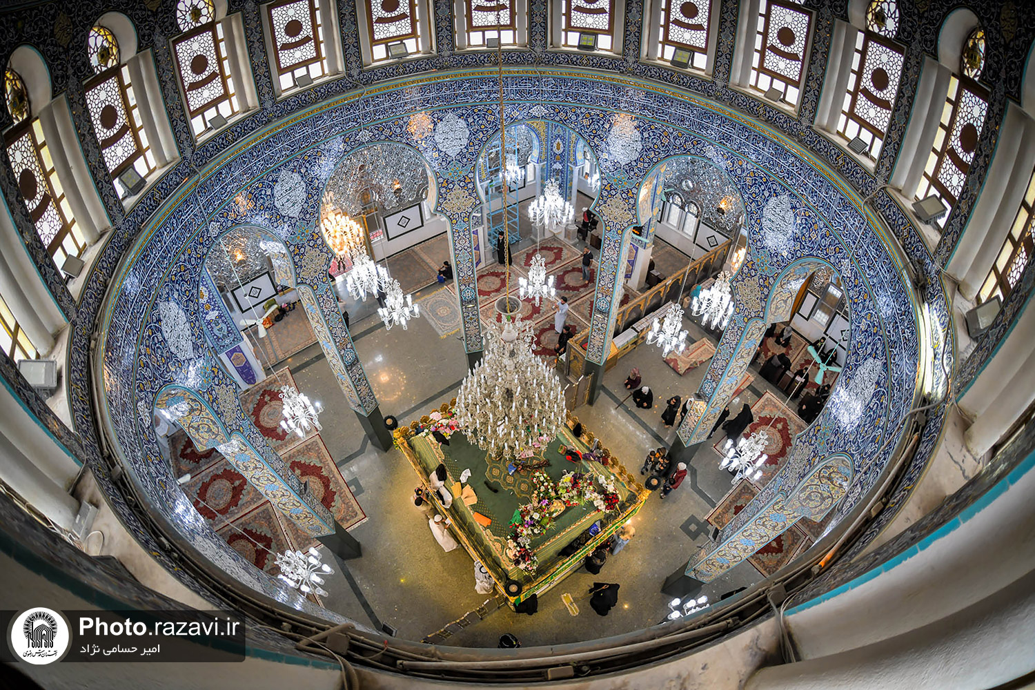 New Photos From Holy Shrine of Lady Zaynab (S.A)