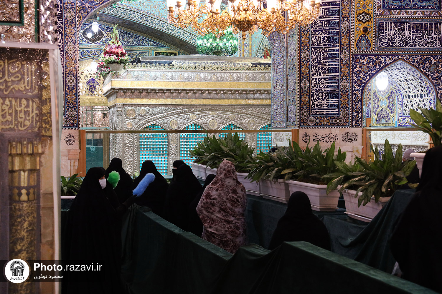 Photos: Imam Ridha's (AS) pilgrimage observing health protocols