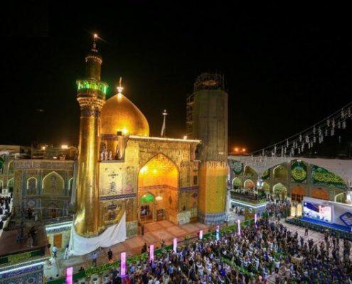 Najaf, Imam Ali holy shrine, Alawi holy shrine
