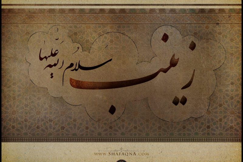 Shia Graph, Lady Zaynab