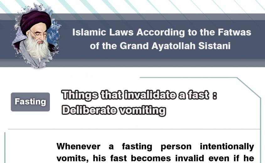 Fasting, Ramadan, Fatwas of Ayatollah Sistani, Shia Graph