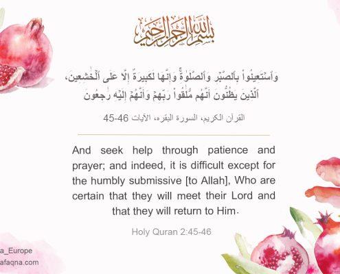 Quran 2:45-46, Shia Graph