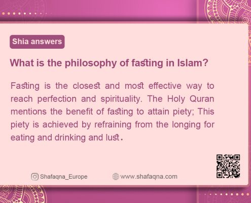 Shia Graph, Shia answers , philosophy of fasting in Islam