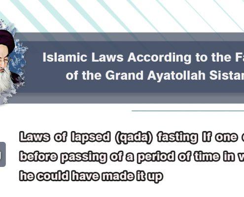 Ayatollah Sistani, Shia Graph, fatwas on fasting