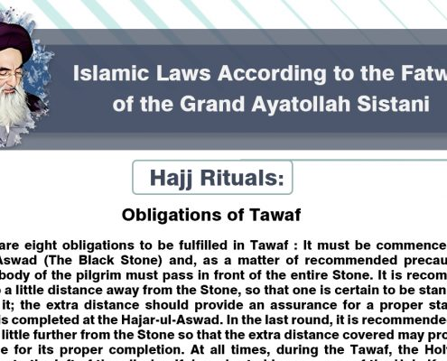 Types of Hajj, Hajj rituals, Shia Graph