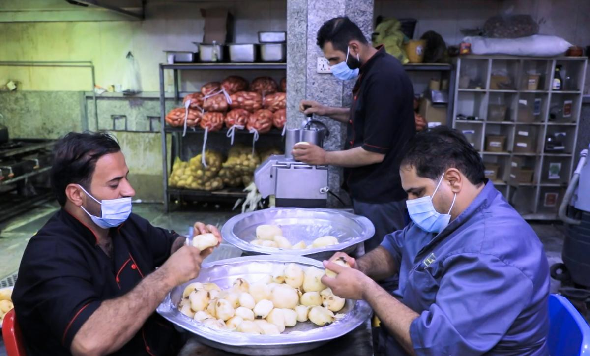 300 thousand meals provided by host restaurant of the Al-Abbas's (A.S) holy shrine during Ashura