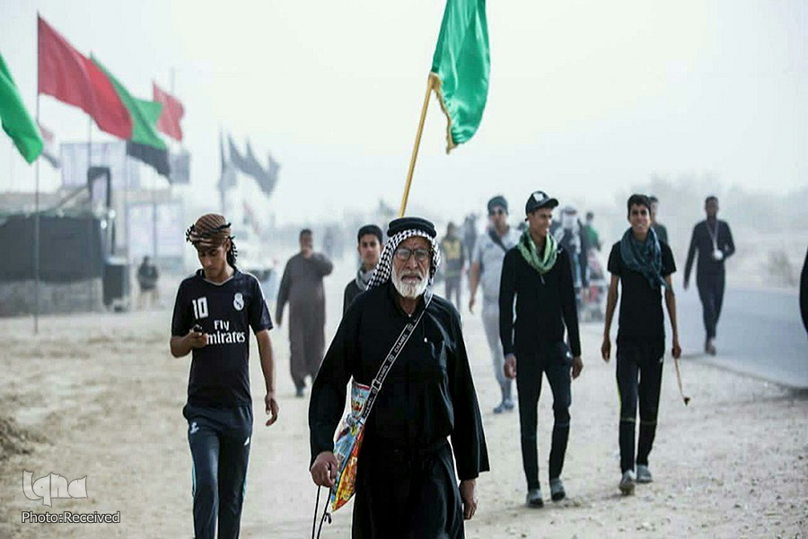 Photos: First group of pilgrims start Arbaeen March in Basra